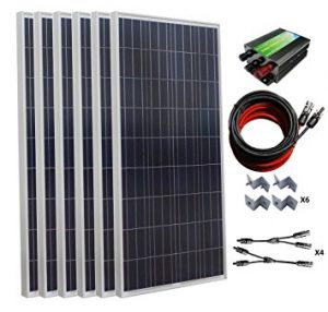 ECO-WORTHY 1000W Solar Panel Kit