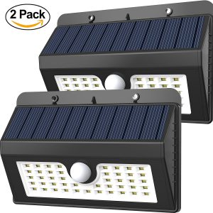 45 LED Wireless Solar Motion Security Light