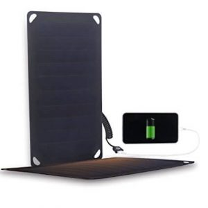 4oz 5V 5W Ultra Portable Solar Charger