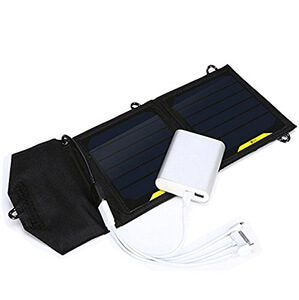7w Foldable Solar Panel Portable Solar Charger