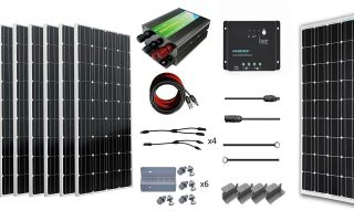 Best RV Solar Panel Kits