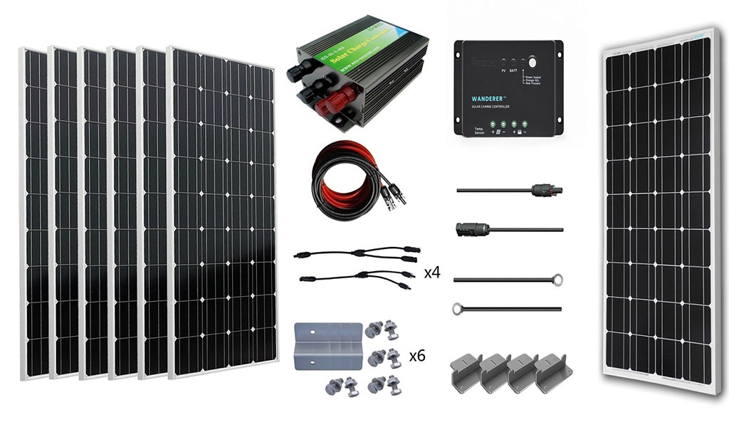 Best Rv Solar Panel Kits In 2019 Top 10 Reviews
