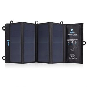 BigBlue 5V 28W Foldable Outdoor Solar Powered Charger
