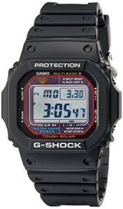 Casio G-Shock GWM5610-1 Men's Solar Black Resin Sport Watch