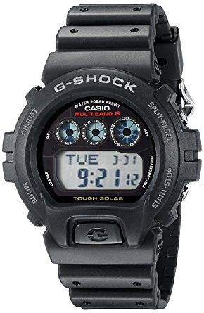 Casio G-Shock Men's Tough Solar Black Resin Sport Watch