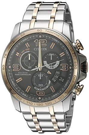 Citizen Eco-Drive Men's Analog Display Two Tone Watch