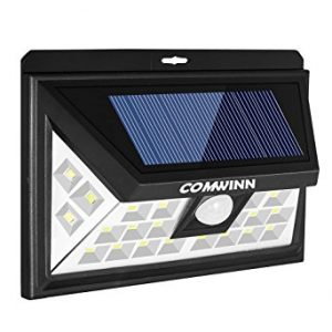 Comwinn 24 LED Outdoor Motion Sensor Solar Light