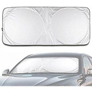 DiDaDi Folding Silvering Reflective Car Window Sun Shade