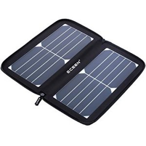 ECEEN Folding Solar Panel Phone Charger