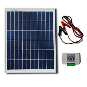 ECO-WORTHY 20W 12V Solar Panel Kit