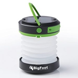 ErgaLogik Compact Solar Camping Lantern - Best Emergency Light