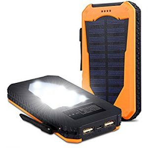 Best Solar Phone Charger in 2019 (Top 10 Reviews)