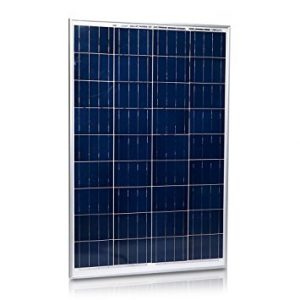 GENSSI 100W Polycrystalline Photovoltaic PV Solar Panel Module RV Boat