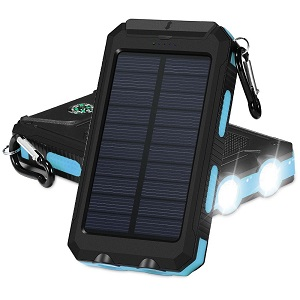 GRDE Solar Powered Phone Charger