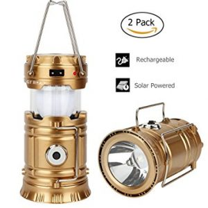 GT ROAD Solar Led Camping Lantern