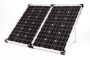 Go Power! GP-PSK-120 120W Portable Folding Solar Kit