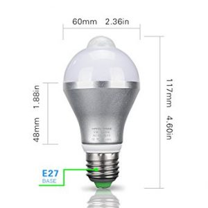 HAIMI TREE Motion Sensor Light Bulb