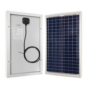 HQST Off Grid Polycrystalline Portable Solar Panel