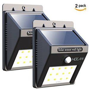 Holan 12 LED Solar Powered Security Light