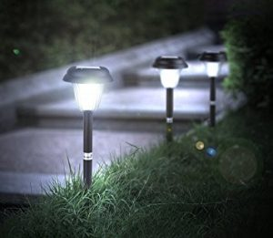 Hyperikon LED Solar Pathway Lights