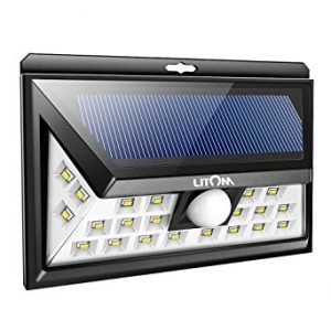 Litom 24 LED Outdoor Motion Sensor Solar Lights