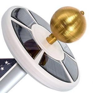 Maggift Solar Flag Pole Light