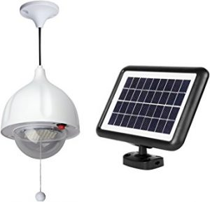 MicroSolar Super Bright Solar Shed Light