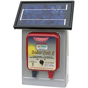 Parmak DF-SP-LI Solar Pak 6 Low Impedance 6-Volt Battery-Operated