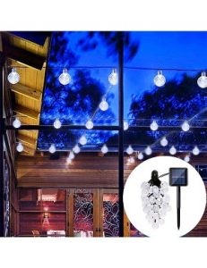 PeterIvan Solar String Lights