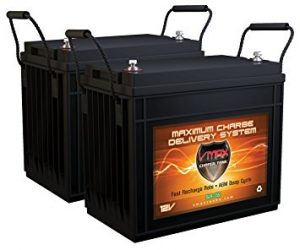 QTY 2 Vmaxtanks Deep Cycle Battery