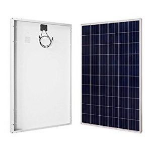 RENOGY 270W Watt Polycrystalline Black Solar Panel UL Listed