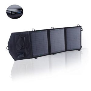 SUNKINGDOM 19.5W 2-Port USB Solar Charger