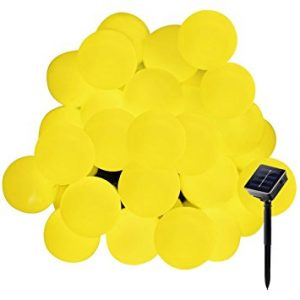 Secoo Outdoor Solar string Lights