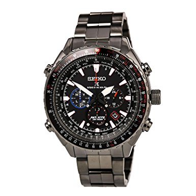 Seiko Men's PATRIOT JET TEAM Limited Edition Solar Watch