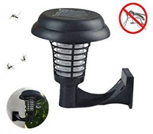 Solar-Powered Outdoor Mosquito Killer