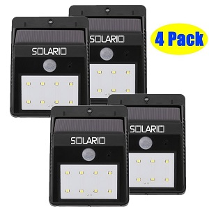 Solario Solar Powered Security Floodlights