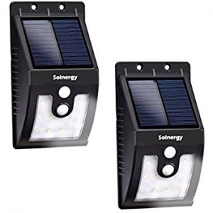 Solnergy LED Solar Sensor Light