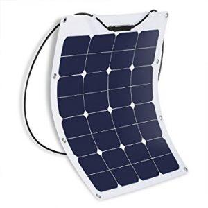 Suaoki 50W 18V 12V Solar Panel Charger