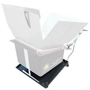 Sun Tracker for Solar Cooker by Sunshine Innovations
