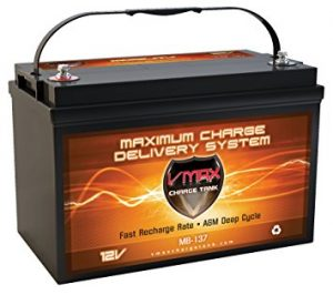 VMAXMB137 AGM Deep Cycle Battery