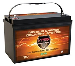 Vmaxtanks Rechargeable Battery