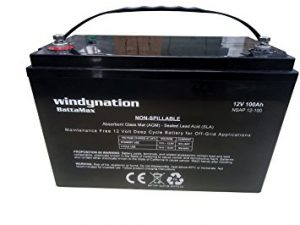 WindyNation Deep Cycle Battery