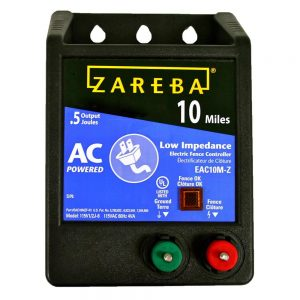 Zareba AC-Powered Low-Impedance Charge