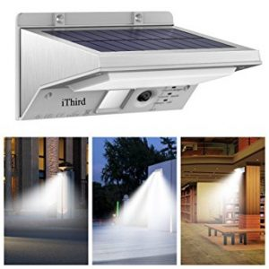 iThird Solar Powered Security Lights