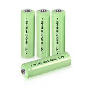 uxcell Rechargeable Batteries